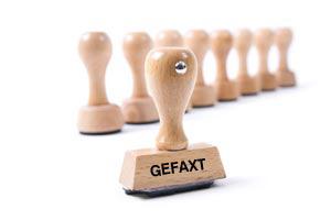Lagerstempel-Holz (GEFAXT)