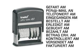 Trodat Printy 4817 (Wortband + Datum)