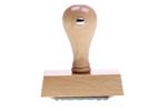 sachlich-rechnerisch richtig SBFS18 | Holzstempel 50 x 30 mm