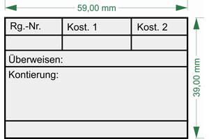 KoS1 - Holzstempel 60 x 40mm