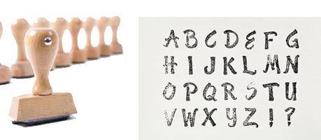 Beispiel-Alphabetstempel